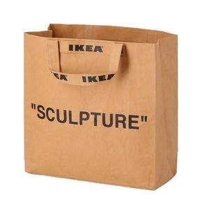 MARKERAD Ikea X Virgil Abloh Off White Medium Bag
